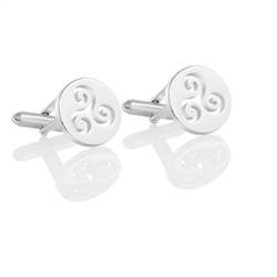 Kells Cufflinks by Newbridge Silverware