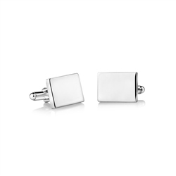 Newbridge Silverware SP Rectangular Cufflinks