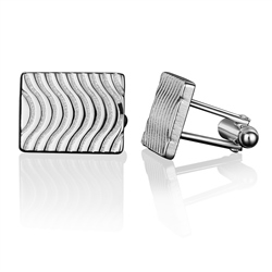 Newbridge Silverware Guinness Wave Cufflinks