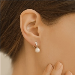 Clip on Earrings with Pearl Drop by Newbridge Silverware