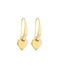 Newbridge Silverware Heart Earrings