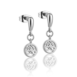 Newbridge Silverware Silver plate Stud Earrings