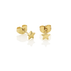 Star Stud Earrings by Newbridge Silverware