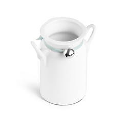 Whiteware Milk Churn 95ml by Newbridge Silverware