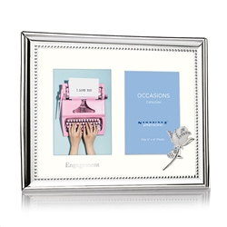 Newbridge Silverware Engagement Double Frame 3x4