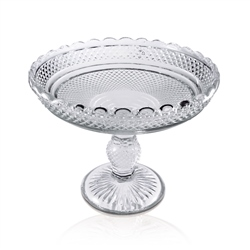 Newbridge Silverware Clear Glass Fruit Bowl