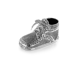Silverplate Baby Bootie