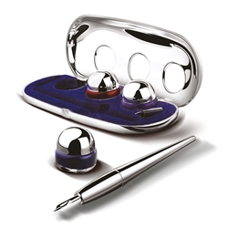 Newbridge Silverware Inkwell & Pen set
