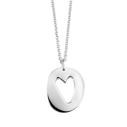Newbridge Silverware Amour Heart Pendant