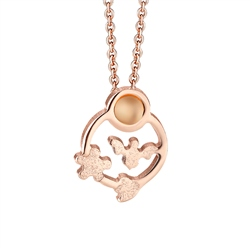 Newbridge Silverware Ariel Rose Goldplate Pendant