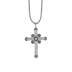 Newbridge Silverware Cross Clr/ Blk