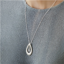 Newbridge Silverware Droplet Pendant
