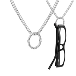Newbridge Silverware Glass Holder Necklace