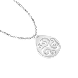 Kells Teardrop Pendant by Newbridge Silverware