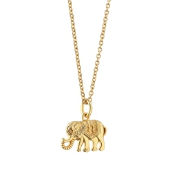Newbridge Silverware Pendant with Elephant