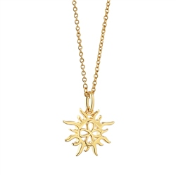 Pendant with Sun by Newbridge Silverware