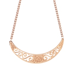 Newbridge Silverware Rose Goldplate Celtic Neckpiece