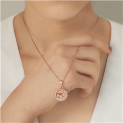 Rose Gold Plated Small Ocean Pendant by Newbridge Silverware