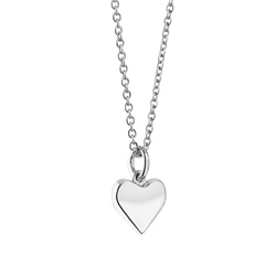 Newbridge Silverware Silverplate Pendant with Heart