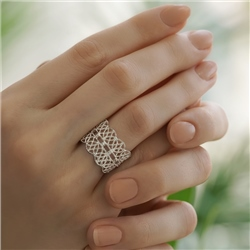 Newbridge Silverware Silver Plated Lace Ring