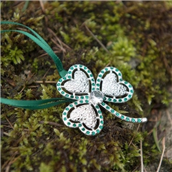 Newbridge Silverware Romance of Ireland Shamrock