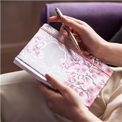 Newbridge Silverware Chic to Chic Pink Hardback Notebook