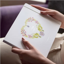 Newbridge Silverware Wedding Guest Book
