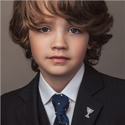 First Communion Tie Pin with Cross