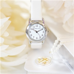 Newbridge Silverware Childs Watch White Strap