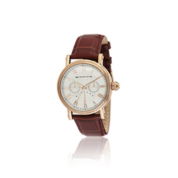 Newbridge Silverware Mens Watch Leather Strap