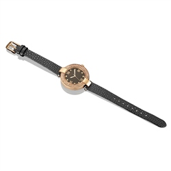Newbridge Silverware Guinness Ladies Watch Black Strap