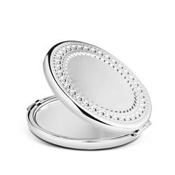 Newbridge Silverware Round Compact Mirror