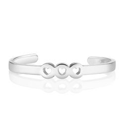 Amour Bangle 3 Hearts