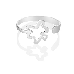 Newbridge Silverware Flower Bangle