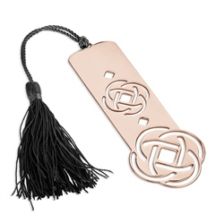 Newbridge Silverware Celtic Bookmark with Black Tassel