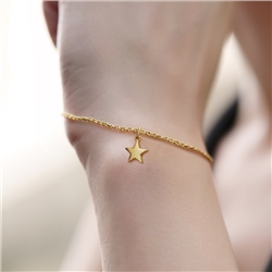 Newbridge Silverware Bracelet with Star