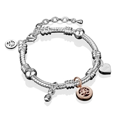 Newbridge Silverware Silverplate Charm Bracelet