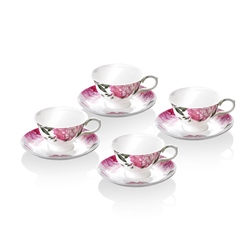 Newbridge Silverware 8 Piece Cup & Saucer set