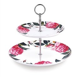 Newbridge Silverware Rose Collection Cake Stand