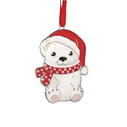 Bear with Christmas Hat by Newbridge Silverware