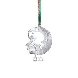 Newbridge Silverware Child on Moon Decoration