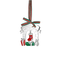 Newbridge Silverware Christmas Fireplace Decoration