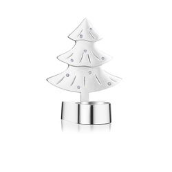 Newbridge Silverware Christmas Tree Tea Light Holder