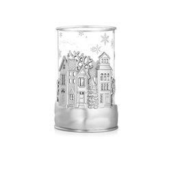 Newbridge Silverware Christmas Village Tea Light Holder