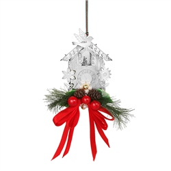 Newbridge Silverware Cuckoo Clock with Garland