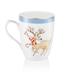 Newbridge Silverware Dancer Christmas Mug
