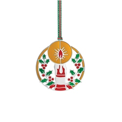 Newbridge Silverware Festive Candle Decoration