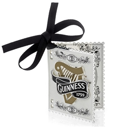 Newbridge Silverware Guinness Harp Book Decoration