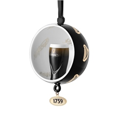Newbridge Silverware Guinness Open Globe Pint Decoration