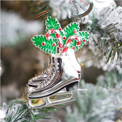 Newbridge Silverware Ice Skates Decoration